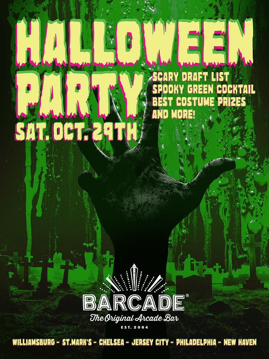 Barcade Brooklyn Halloween Party