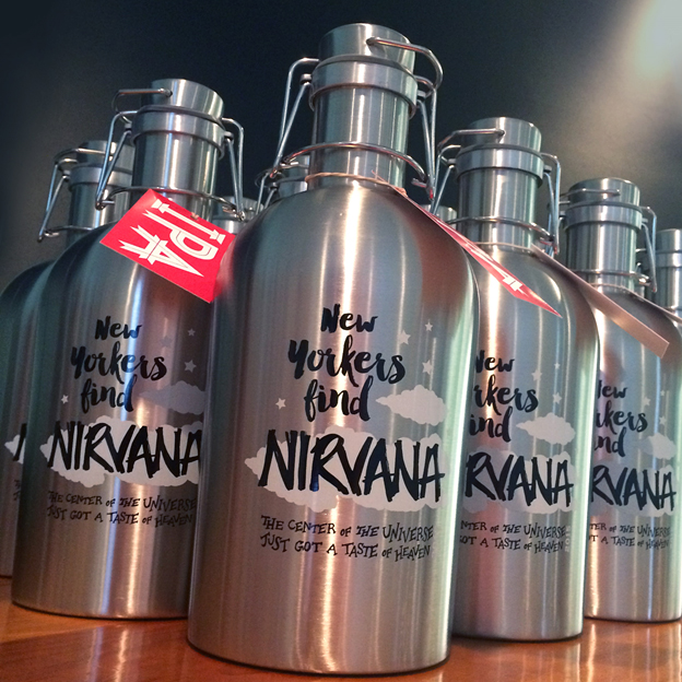 Brewery Ommegang to Release Nirvana IPA in a SoHo Pop-Up Growler Store