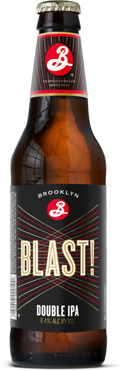 Brooklyn Brewery Blast Double IPA new label