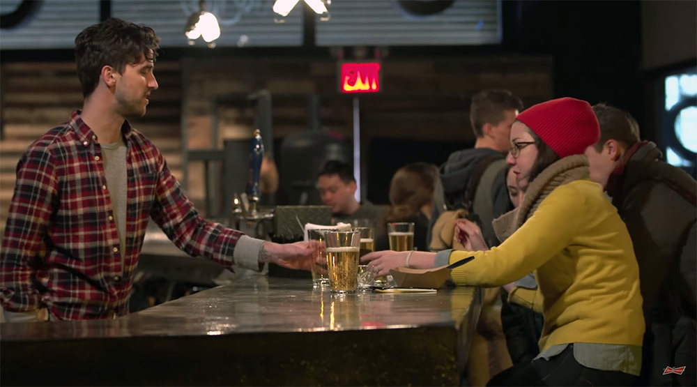 Budweiser Pokes at Brooklyn Craft Beer Drinkers [video]