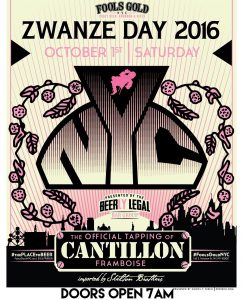 Cantillon Zwanze Day 2016 at Fools Gold NYC