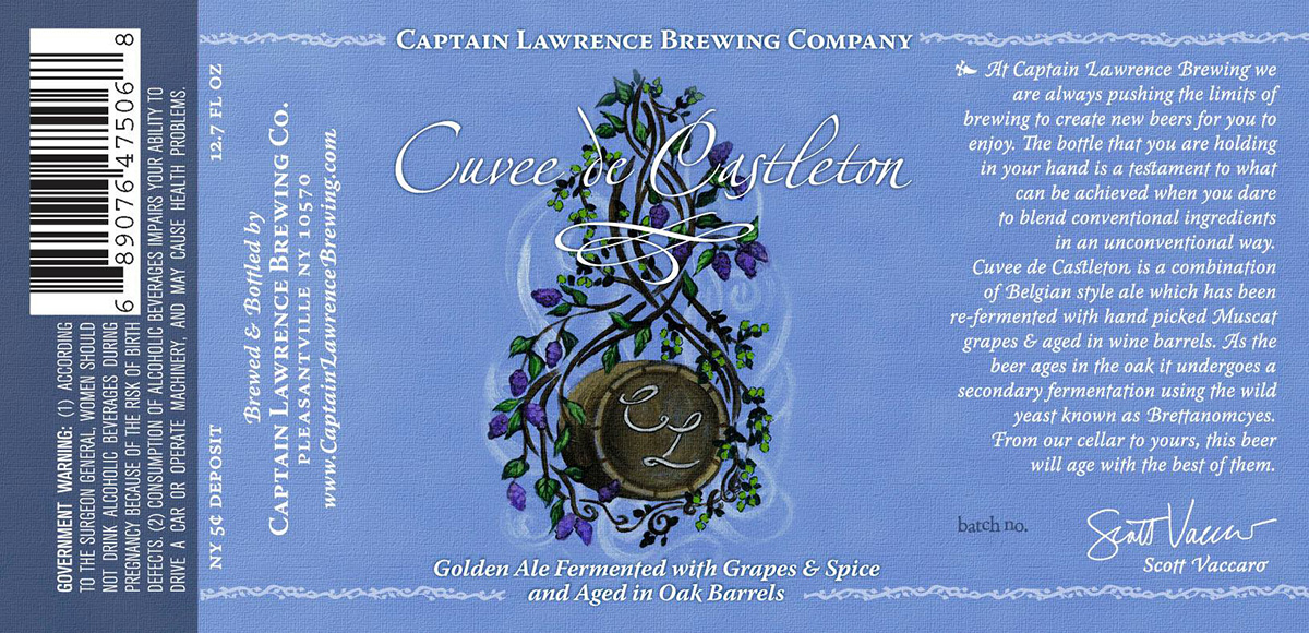 Captain Lawrence Cuvee de Castleton Release Party