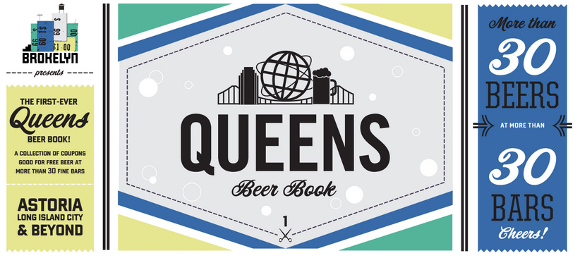 Cheap Beer Alert: The Queens Beer Book Is Here!