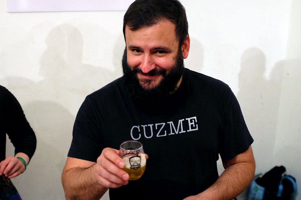 Cuzett Libations at NYC Brewer's Choice during NYC Beer Week 2015