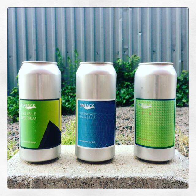 Finback Brewery Triple Can Release
