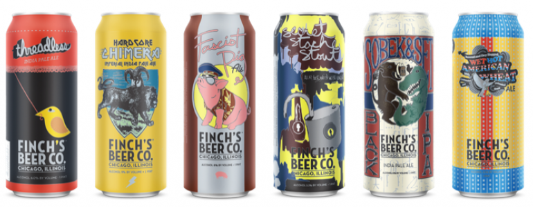 Finch's Brewery Launch Party at Pacific Standard