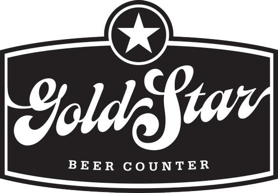 Gold Star Beer Counter