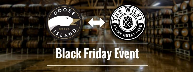 Goose Island Black Friday Event