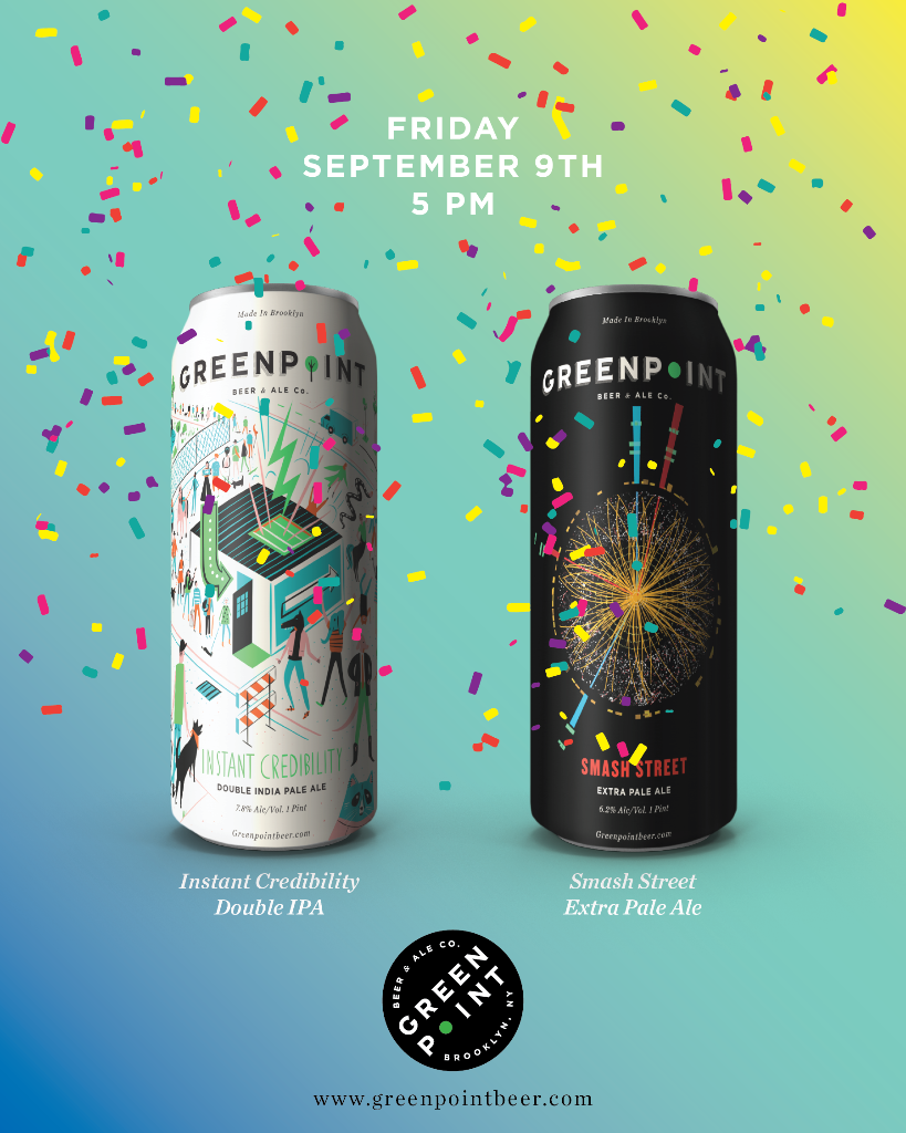 Greenpoint Beer & Ale Company Announce First Can Release