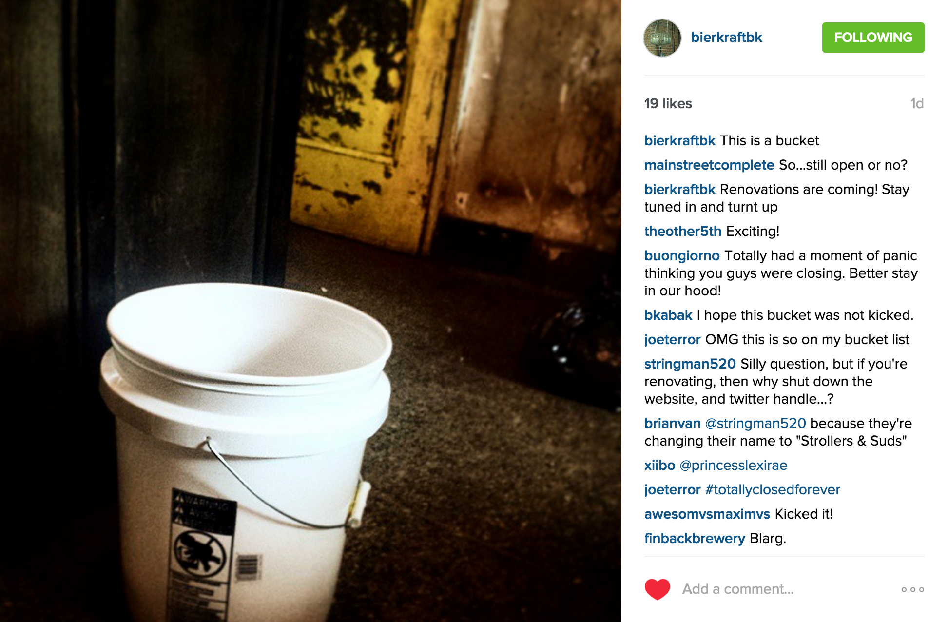 It looks like Park Slope craft beer pioneer Bierkraft has closed.