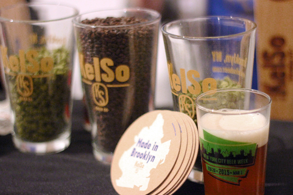 KelSo Beer served a Rye Vienna Lager SMaSH beer at NYC Brewer's Choice during NYC Brewer's Choice