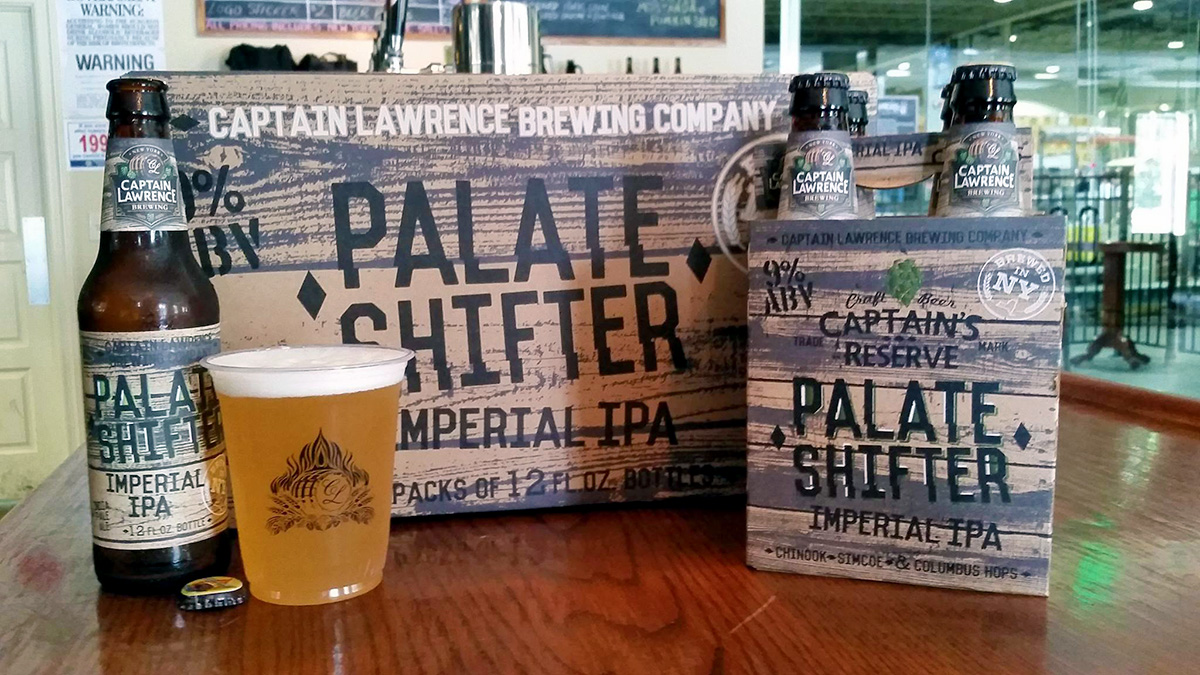 New Release: Palate Shifter from Captain Lawrence