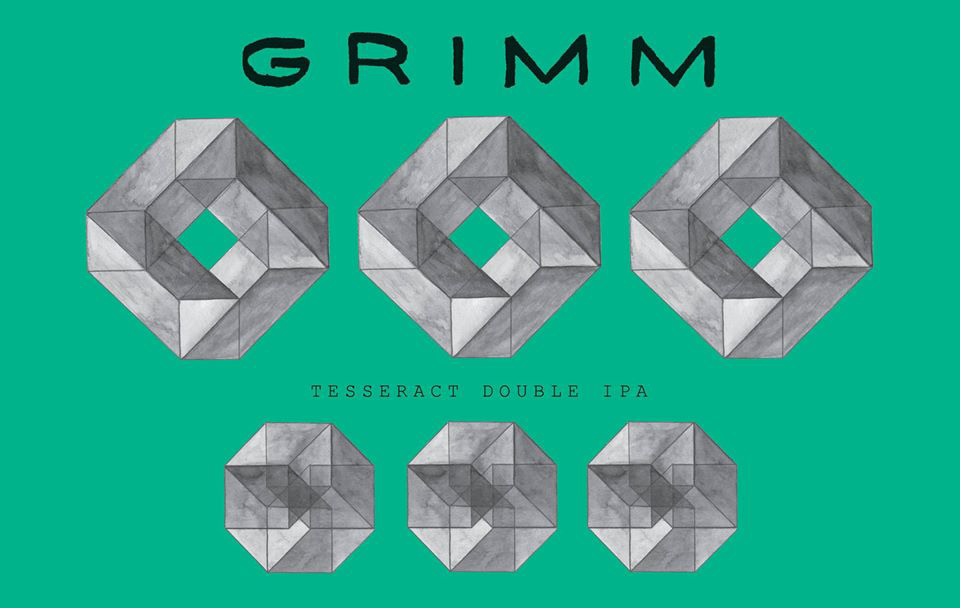 New Release: Tesseract DIPA from Grimm Artisanal Ales