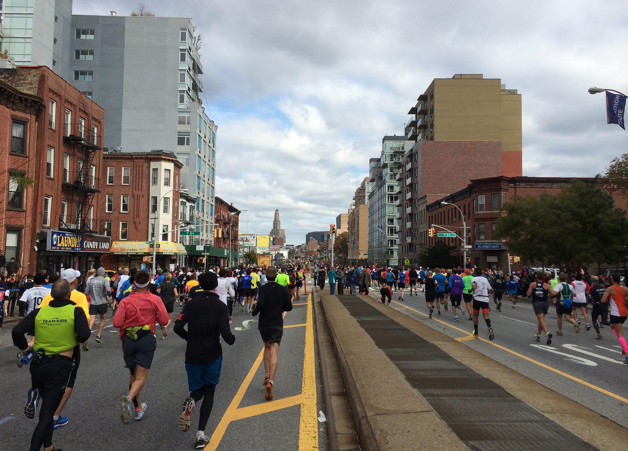 New York City Marathon Happy Hour 2016