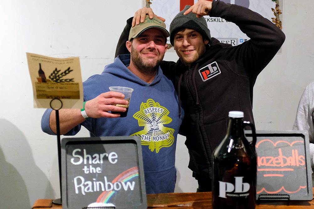 Peekskill Brewery at NYC Brewer's Choice during NYC Beer Week 2015