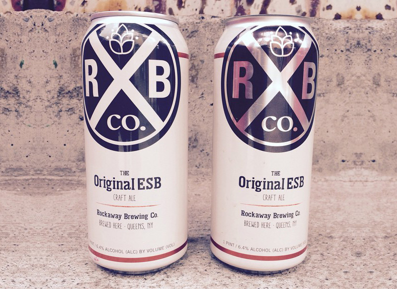 Rockaway Brewing ESB Available in Cans