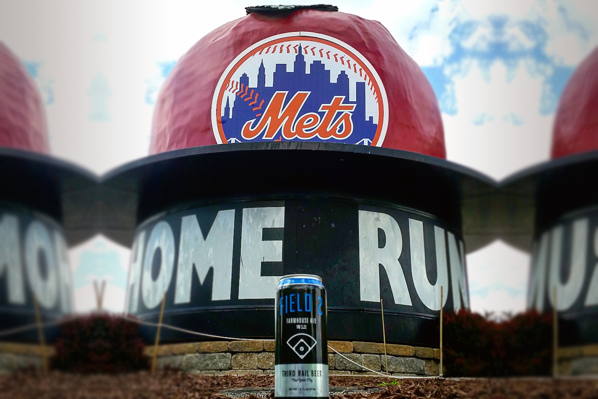 Third Rail Field 2 Cans Available at Citi Field
