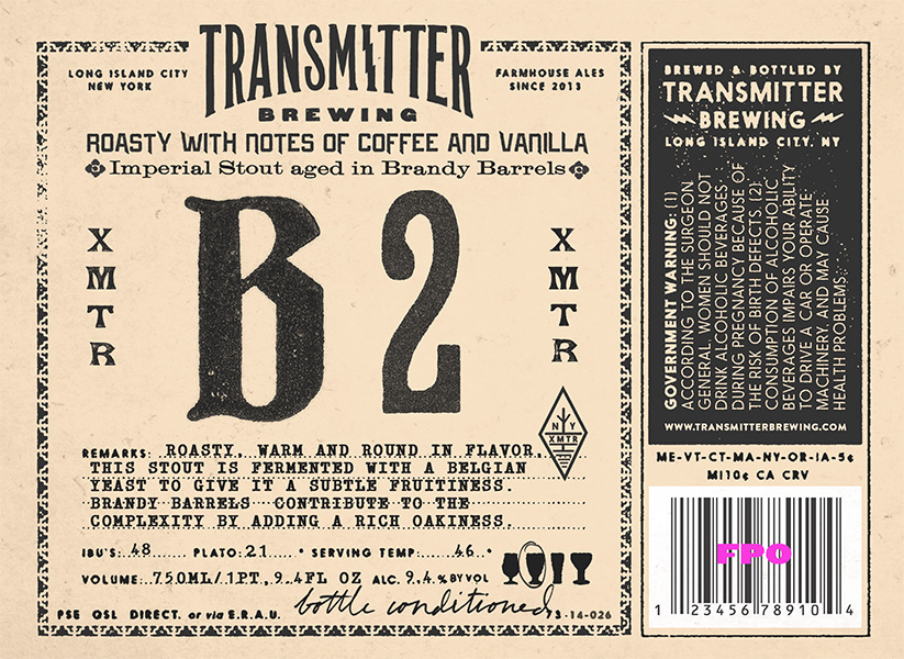 Transmitter Brewing B2