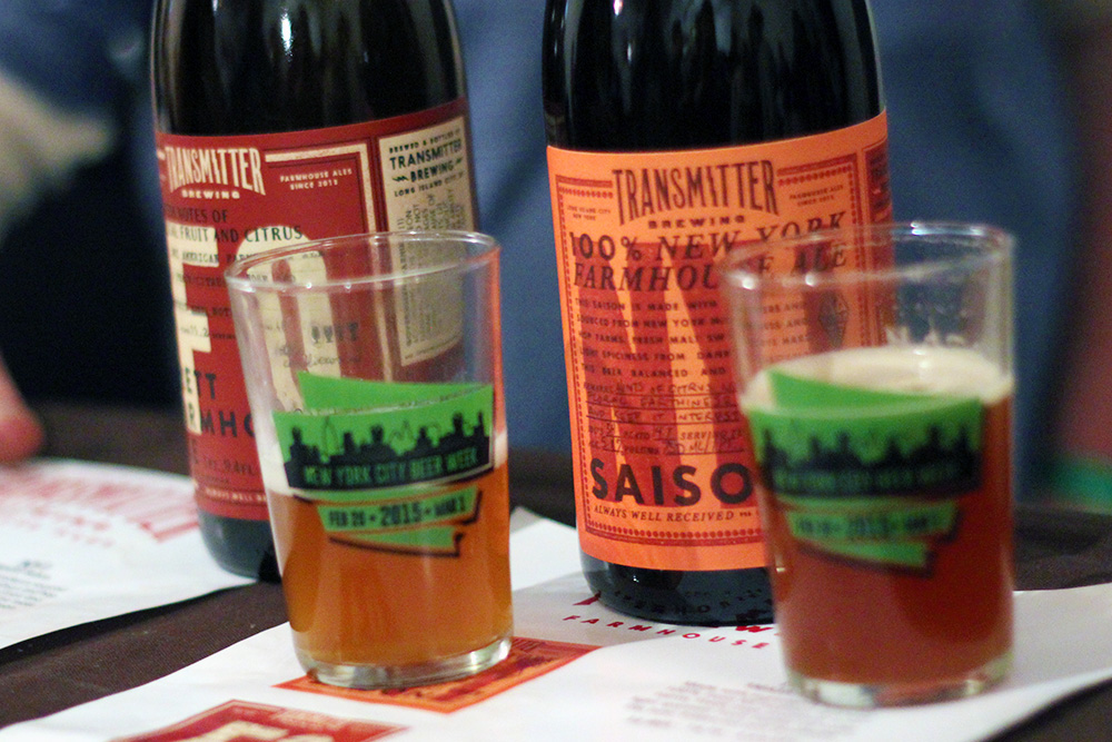 Transmitter Brewing at NYC Brewer's Choice during NYC Beer Week 2015