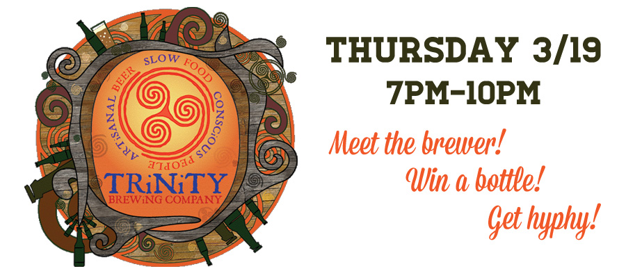 Trinity Brewing Night with the Brewer