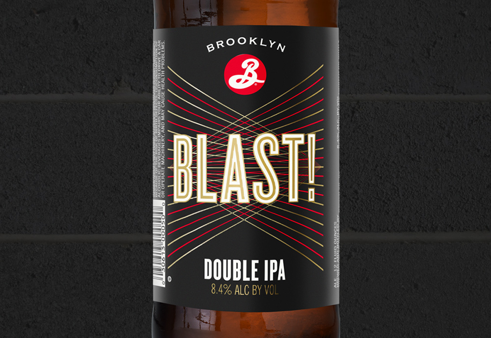 Brooklyn Brewery's Blast Double IPA Gets a Facelift
