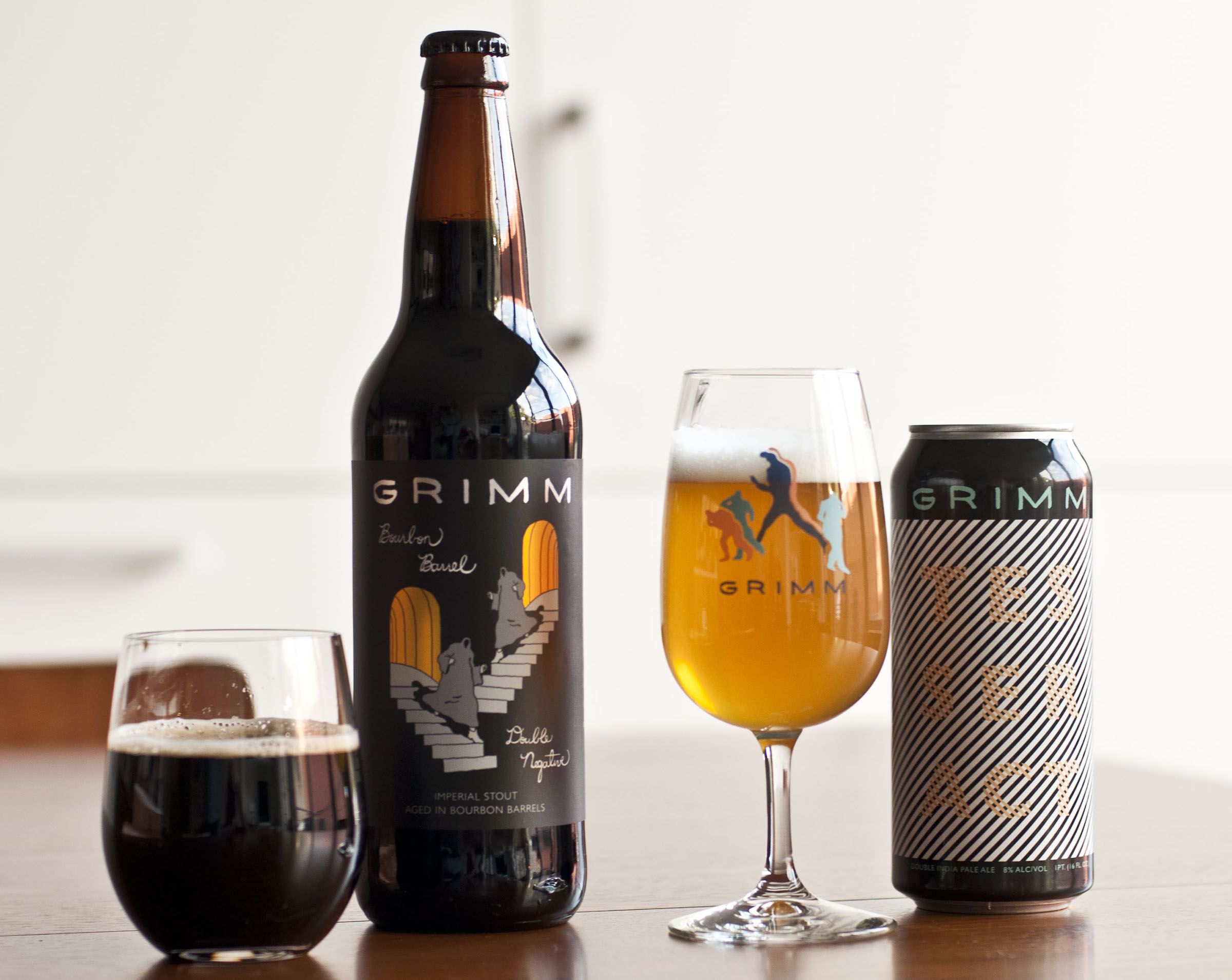 Grimm Re-Releasing Tesseract and Bourbon Barrel Double Negative