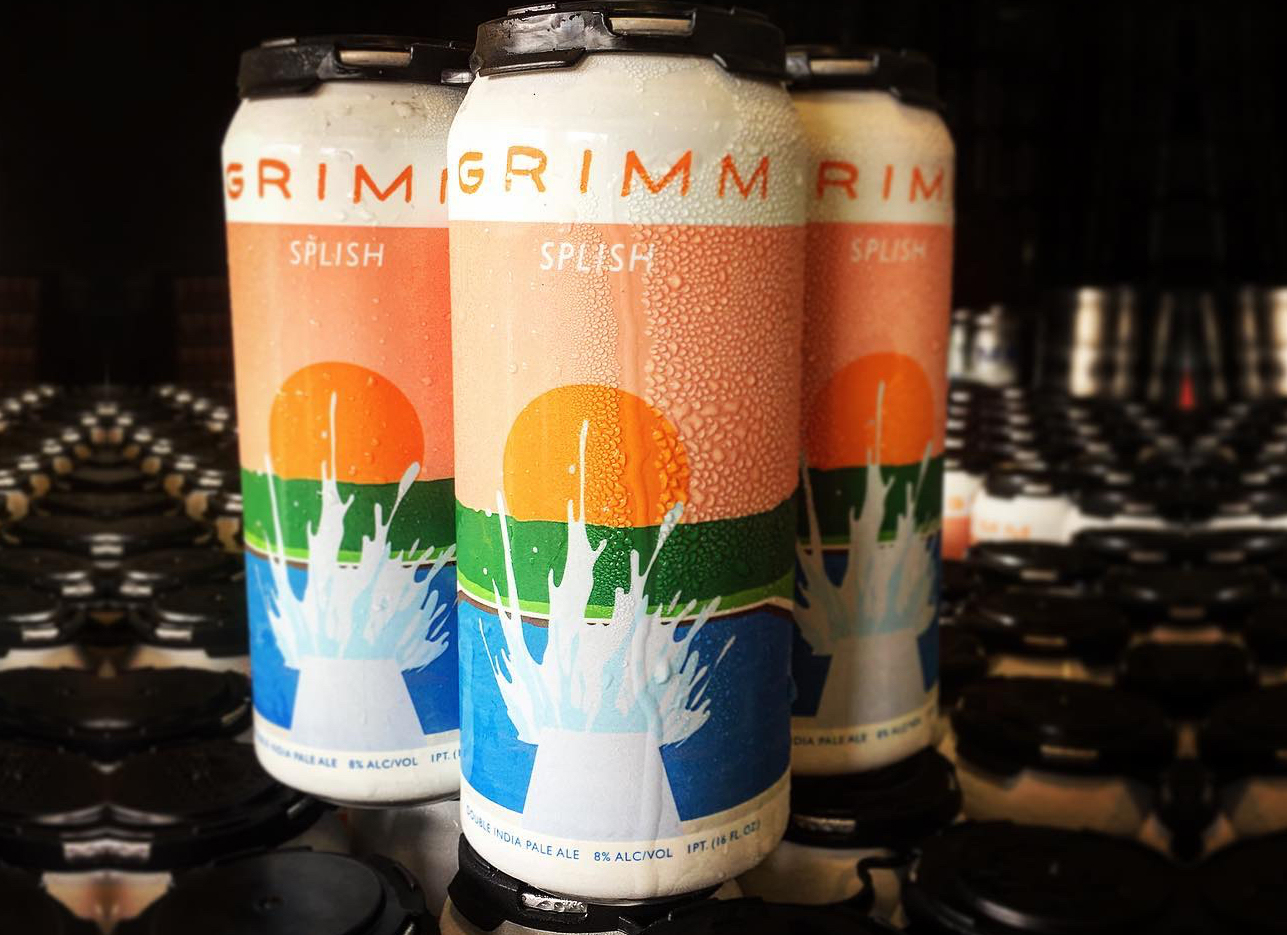 Grimm Splish Double IPA Can Release