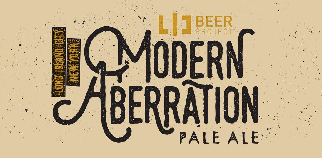 New Release: LIC Beer Project Modern Aberration Pale Ale
