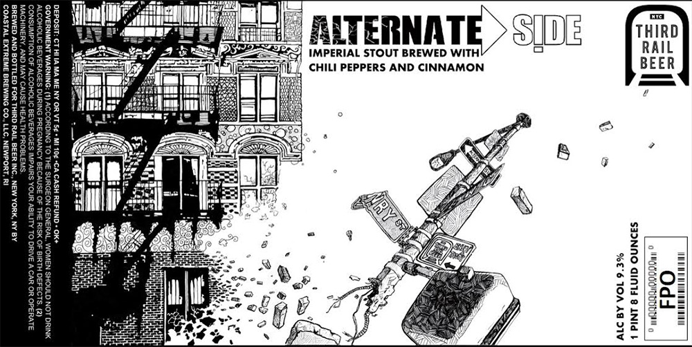 New Release: Alternate Side from Third Rail