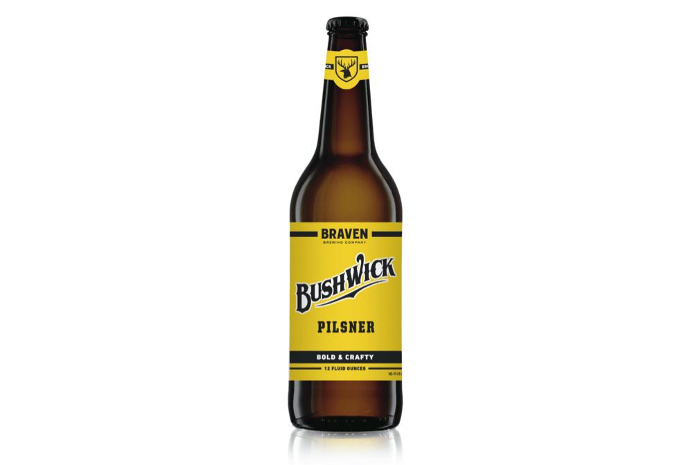 New Release: Bushwick Pilsner by Braven Brewing Company