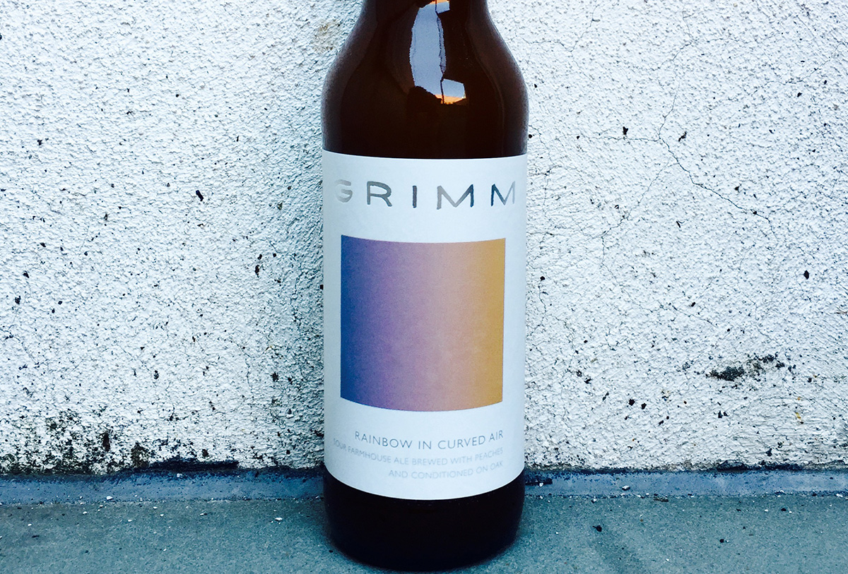 New Release: Cherry Oak Shapeshifter and Rainbow in Curved Air from Grimm Artisanal Ales