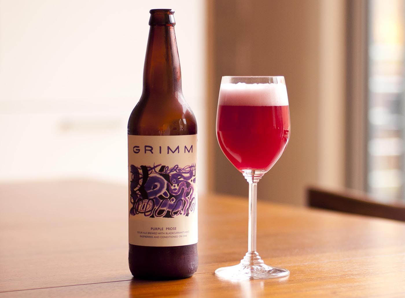 New Release: Purple Prose from Grimm Artisanal Ales