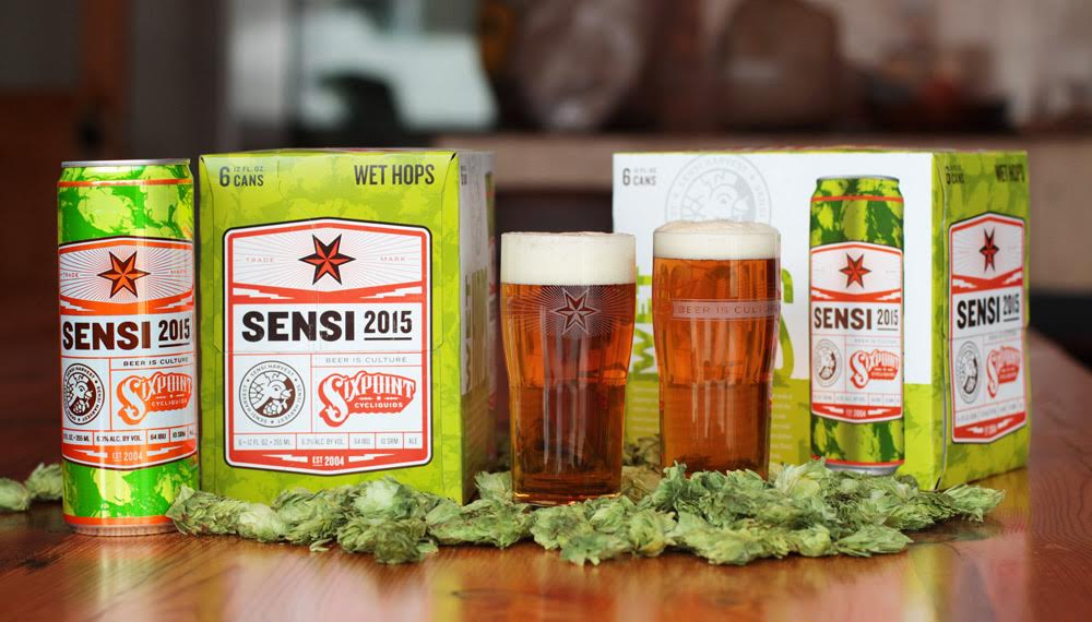 New Release: Sixpoint Sensi Harvest Wet Hop Ale