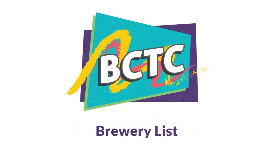 BCTC Brewery List 2015