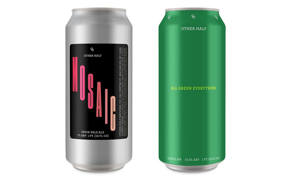 Other Half All Green Everything Triple IPA and Citra IPA Available in Cans Next Saturday