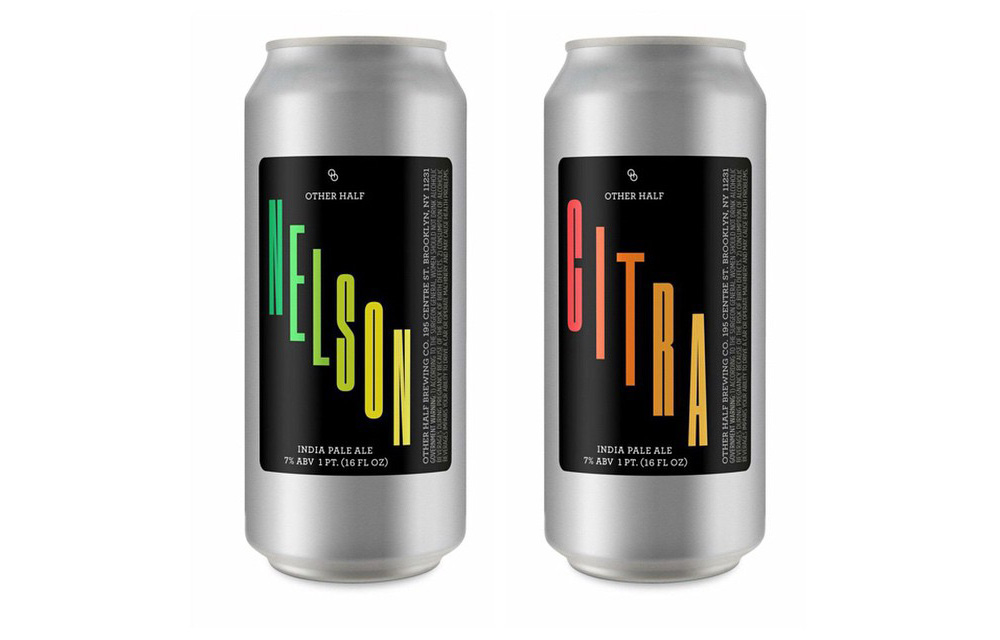 New Release: Nelson and Citra IPA in Cans from Other Half
