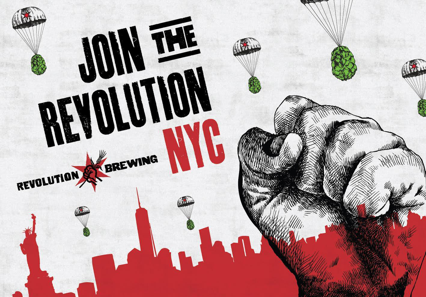 Revolution Brewing Expands Distribution to NYC