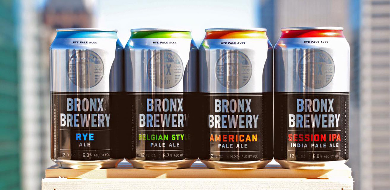 The Bronx Brewery Introduces 12-Ounce Cans